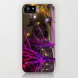 Longfellow Square Christmas Lights (2) iPhone Case
