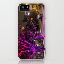 Longfellow Square Christmas Lights (2) iPhone Case