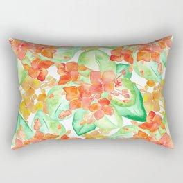 Succulent flowers Rectangular Pillow