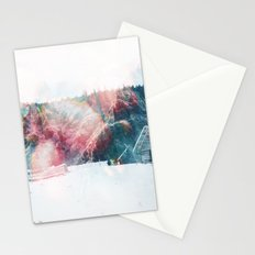 Winter Paint Stationery Cards