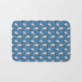 Quail Sketch Bath Mat
