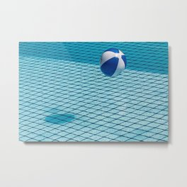 Ball & Pool Metal Print