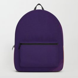 Shades of purple lines Backpack