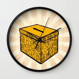 Ballot Box Wall Clock