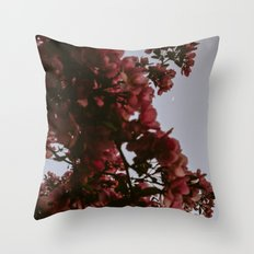 Under The Blossom Trees Throw Pillow
