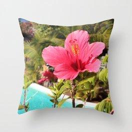 Exotic Azores Throw Pillow