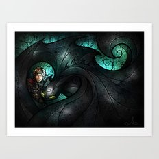The Alpha Art Print