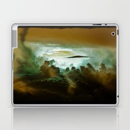 I Want To Believe - Gold Laptop & iPad Skin