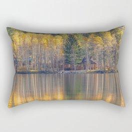 Silver Lake Reflections 2 Rectangular Pillow