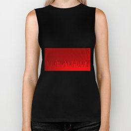 City Redscape Biker Tank