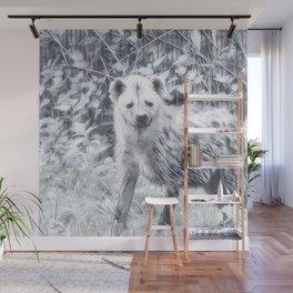 Impressive Animal - Hyena Wall Mural