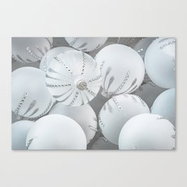 White Glass Canvas Print