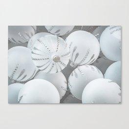 White Glass Canvas Print