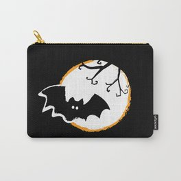 Bat and Moon Carry-All Pouch