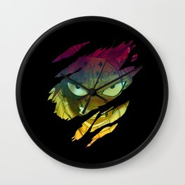 Anime Legend Patch V.2 Wall Clock
