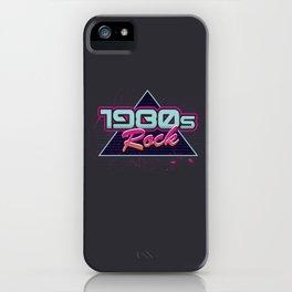 1980s Rock iPhone Case