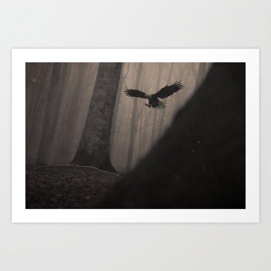 Magic Eagle Art Print