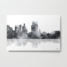 Boise, Idaho Skyline BG Metal Print