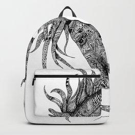 Zentangle Horse Artwork Backpack