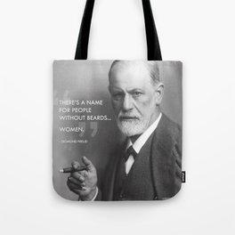 Sigmund Freud - Beards Tote Bag