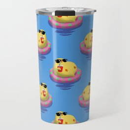Chick on vacation Travel Mug