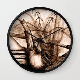 Pájaros vé Wall Clock