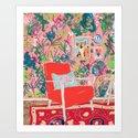 Red Chair by larameintjes