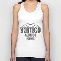 vertigo Tank Tops featuring VERTIGO by postman001