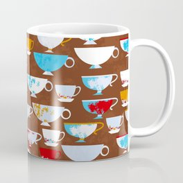 Coffe cups background Coffee Mug