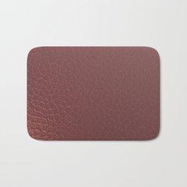 Pink Beaten Copper Bath Mat
