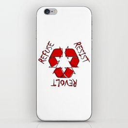 (Re) History in Reverse iPhone Skin