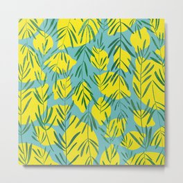 Rosemary and Lemons Metal Print