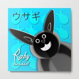 Raby the rabbit! Metal Print