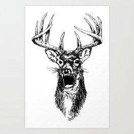 Deerger Art Print