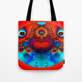 Heart in a Chamber Tote Bag