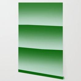 Green to Pastel Green Horizontal Linear Gradient Wallpaper