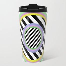 Circles, stripes and pastel colours Travel Mug