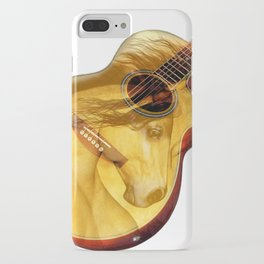 The guitar is a lady iPhone Case