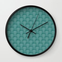 Seamless abstract geometric background Wall Clock