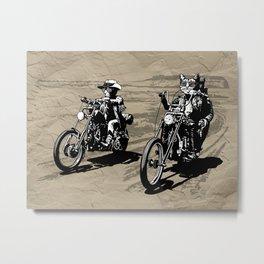 Kitty Rider Metal Print