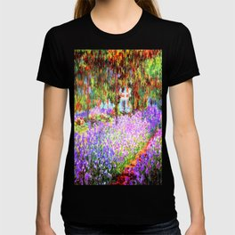 Monets Garden in Giverny T-shirt