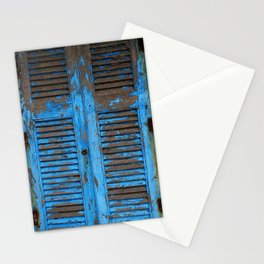 Blue Shutters Stationery Cards