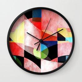 Abstract 2017 005 Wall Clock