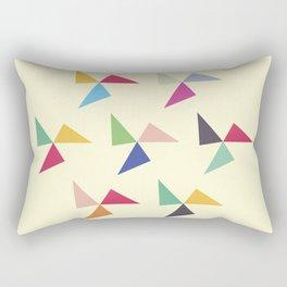 Colorful geometric pattern III Rectangular Pillow