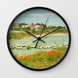 holiday feeling Wall Clock