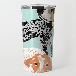 Coonhound Trio Travel Mug