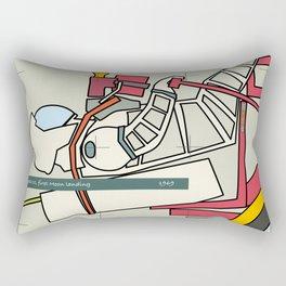 Astronaut 1969 Rectangular Pillow