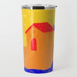 Red Roof Travel Mug