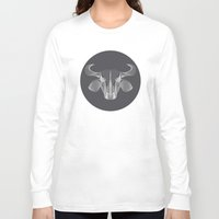 buffalo Long Sleeve T-shirts featuring Buffalo by GeeJayTee