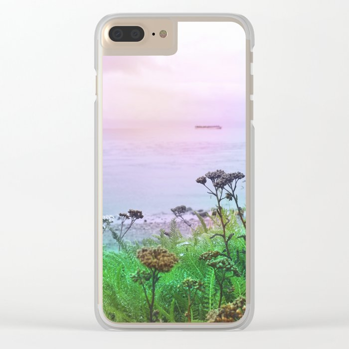 Pastel vibes 66 Clear iPhone Case